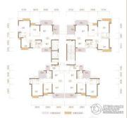 藏珑华府3室2厅2卫95--119平方米户型图
