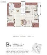 中信国安城4室2厅3卫251平方米户型图