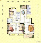 苏通国际新城3室2厅2卫132--137平方米户型图
