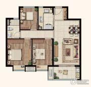 中海玄武公馆3室2厅1卫97平方米户型图