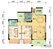 玉柴第壹城3室2厅2卫110平方米户型图