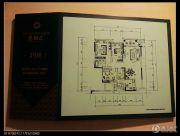 鲁能星城2室2厅2卫80平方米户型图