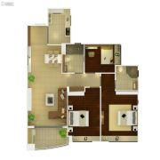 葛洲坝保利曼城3室2厅2卫97平方米户型图