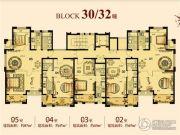 颐景御园2室1厅1卫88平方米户型图