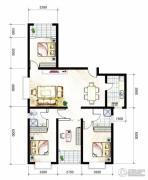 山海城邦・马街摩尔城4室2厅2卫155平方米户型图