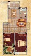天元・加州阳光2室2厅1卫83平方米户型图