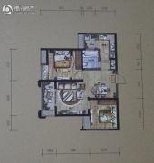 华润・二十四城2室2厅1卫73平方米户型图