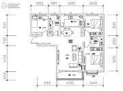 亨威・万象新城0平方米户型图