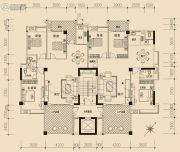 棉湖新城3室2厅2卫155--159平方米户型图