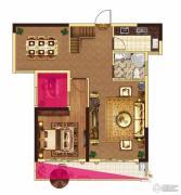 中大城3室2厅2卫152平方米户型图
