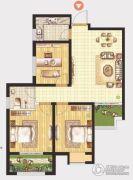 晖祥・江山3室2厅1卫94平方米户型图