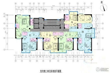 安大磬苑 平面图
