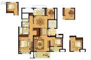 招商雍景湾4室2厅2卫128平方米户型图