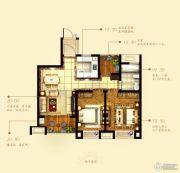 中铁诺德誉园2室2厅1卫79--81平方米户型图