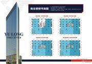 钰龙时代中心55--1100平方米户型图