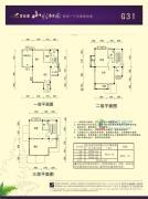 碧桂园山水桃园204平方米户型图