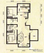 世纪雅苑2室2厅2卫0平方米户型图
