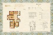 梦溪嘉苑NO.5(商铺)3室2厅2卫120平方米户型图