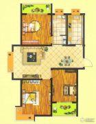 万正龙城3室2厅1卫120平方米户型图