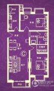 汇金・世界城2室2厅1卫102平方米户型图