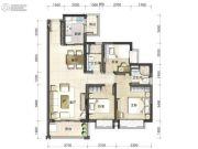 虎门・君悦东方3室2厅2卫0平方米户型图