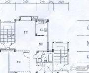 水岸帝景 高层3室2厅1卫104平方米户型图