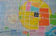 泰东城交通图