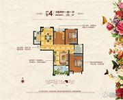 福泰御河湾3室2厅1卫0平方米户型图