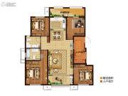 三盛・国际公园4室2厅2卫132平方米户型图