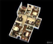 荣昌绿园3室2厅2卫0平方米户型图