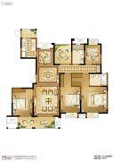 苏高新天之运5室2厅2卫177平方米户型图