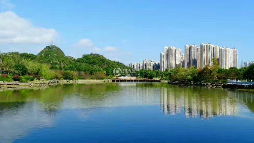 桂林奥林匹克花园实景图
