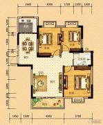 河畔春秋二期・碧水雅居3室2厅1卫104平方米户型图