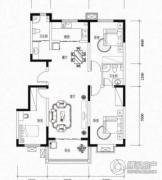 滨湖颐园3室2厅2卫130--131平方米户型图