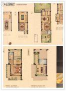 华鸿・艺墅3室3厅2卫123平方米户型图