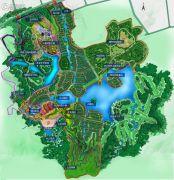 美的鹭湖森林度假区规划图