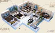 颐和山庄4室3厅3卫241平方米户型图