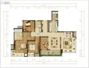 华润公园九里4室2厅2卫0平方米户型图