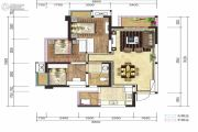 融创凯旋东岸3室2厅1卫86平方米户型图