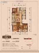 丽江半岛4室2厅2卫130--151平方米户型图
