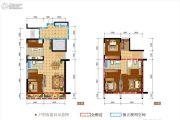 光华壹号4室2厅3卫137平方米户型图