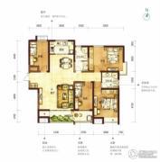 阳光100国际新城4室2厅2卫173平方米户型图