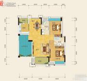 裕田・奥莱公馆2室2厅1卫112平方米户型图