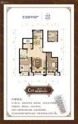 东亚御景湾3室2厅1卫100平方米户型图
