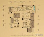 鲁能领秀城3室2厅2卫108平方米户型图