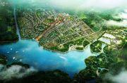 太平湖温泉小镇规划图