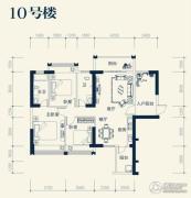 业和丰门盛世3室2厅2卫114平方米户型图