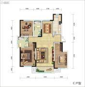 东城人家3室2厅2卫0平方米户型图