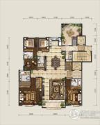 保利东郡5室2厅4卫285平方米户型图