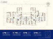 东部美的城3室2厅2卫122--169平方米户型图
